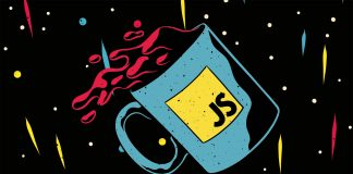 Image of a JavaScript Mug with Java