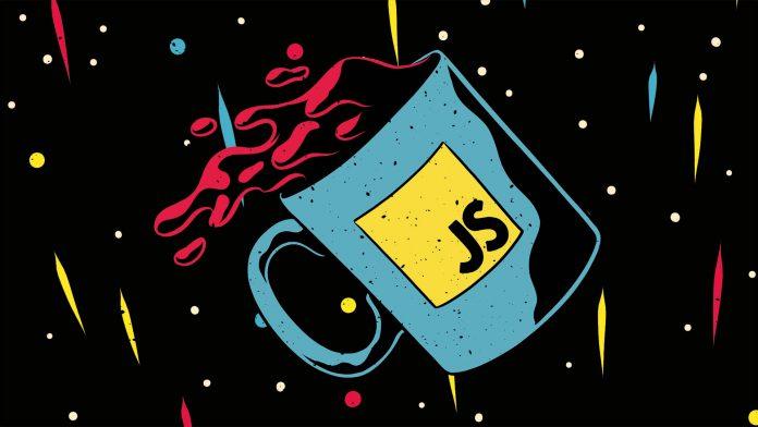 Image of a JavaScript Mug with Java